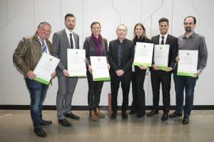 WIFI Diplomverleihung 2016/17 zum Trainer in der Erwachsenenbildung